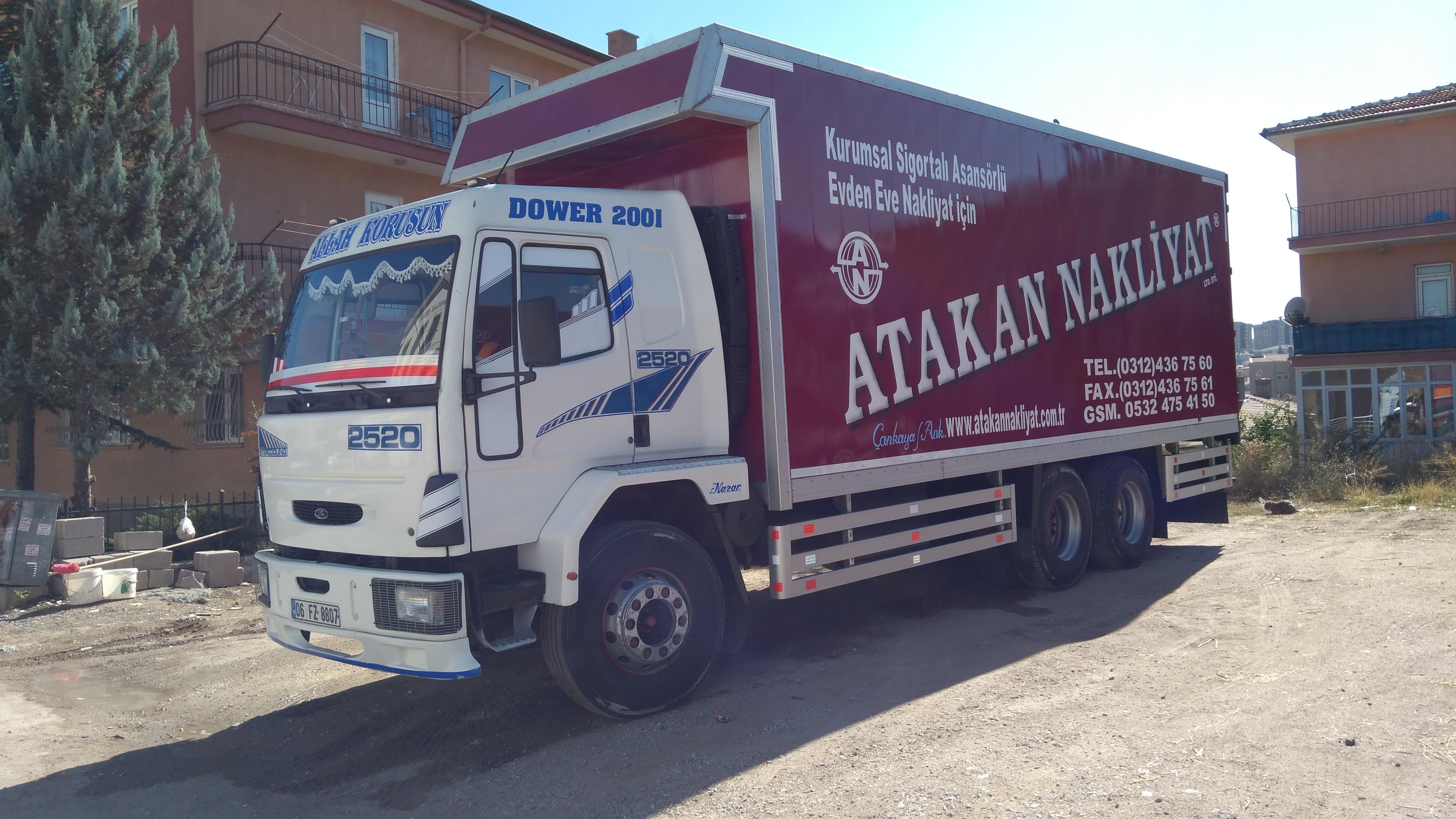 Ankara Evden Eve Asansörlü Nakliyat