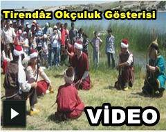 2 Frig Spor Festivalinde Tirendâz Okçuluk Gösterisi VİDEO