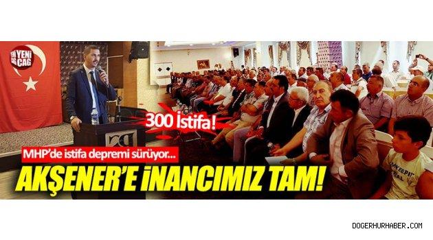 Afyonkarahisar MHP de Toplu İstifa