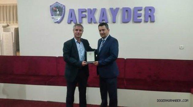 AFYONMADAEF'TE GÖREV DEĞİŞİKLİĞİ