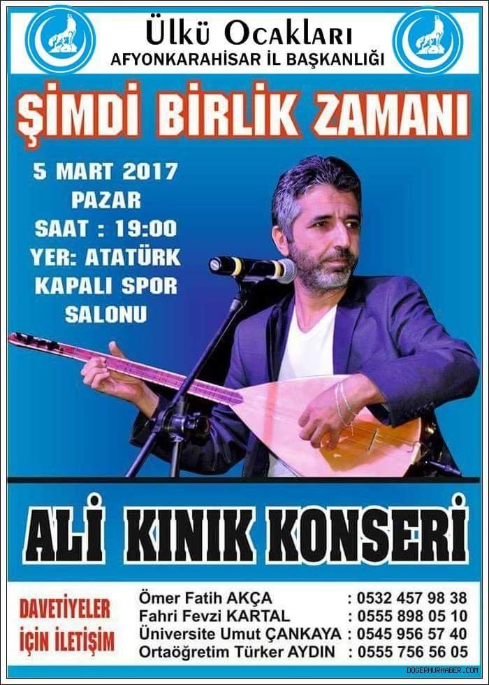 ALİ KINIK KONSERİ