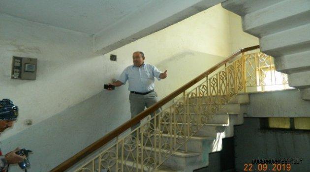 Başkan DEMİREL Eski Belediye Binası Hakkında Açıklamada bulundu