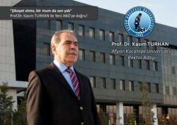 Afyon Kocatepe Üniversitesi rektör seçimi yapıldı