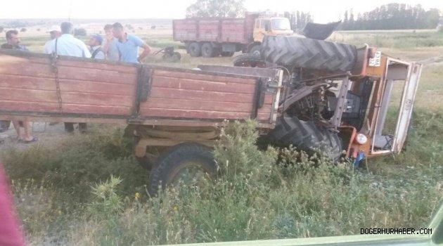Kütahya yolunda kaza