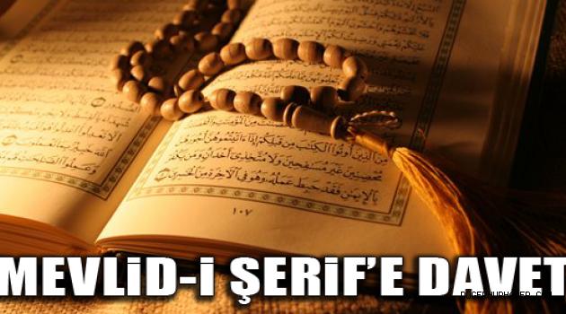 Mevlüd daveti (İbrahim Demirel)