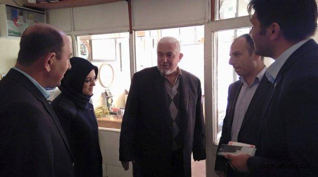 Selcen Karaer Fatih Çetinkaya Döğer Ziyareti