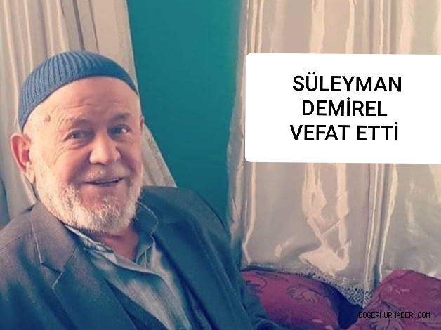 Süleyman Demirel vefat etti