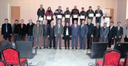 İHSANİYE'DE GİRİŞİMCİLER BELGELERİNİ TÖRENLE ALDI