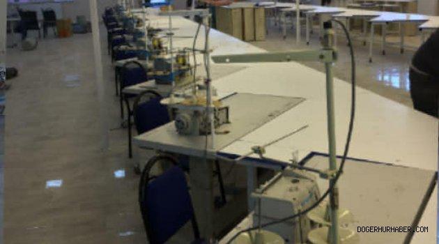 Tekstil Atölyesi Faaliyete Başladı